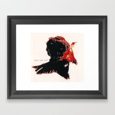 Gold Fish 3 Framed Art Print