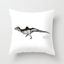 Altispinax dunkeri Throw Pillow