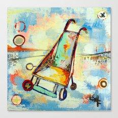 stroller Canvas Print