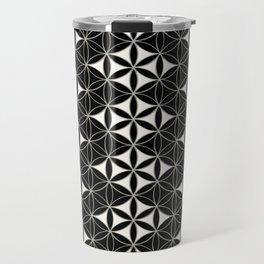 Flower of Life Pattern 12 Travel Mug