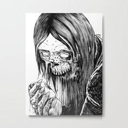 Snack Time Metal Print