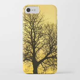 A glow over Sheriff Hutton iPhone Case