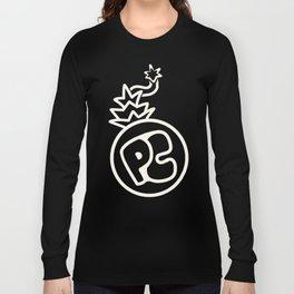 Pineapple Crew (Black n' White) Long Sleeve T-shirt