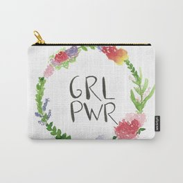 GRL PWR flowers Carry-All Pouch