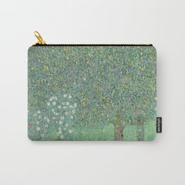 Rosebushes under the Trees Carry-All Pouch