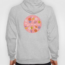 PEACH AND ORANGE PATTERN Hoody