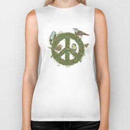 Peace Talks Biker Tank