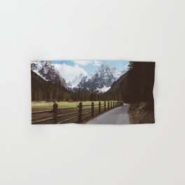 Let's hike together - Landscape and Nature Photography Hand & Bath Towel