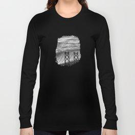 Iowa-Illinois Memorial Bridge - Close Up Long Sleeve T-shirt