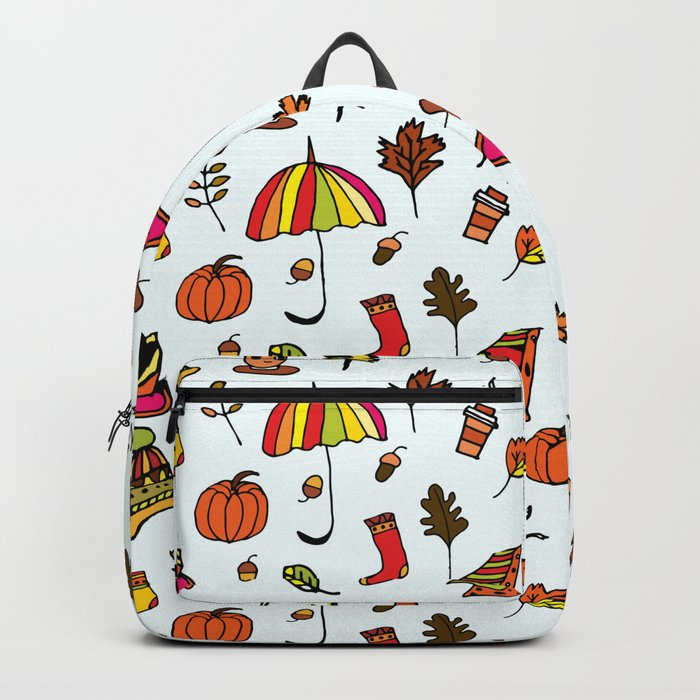 Fall Pattern I Backpack