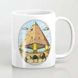 Egyptian Pyramids Alien Abduction UFO Coffee Mug