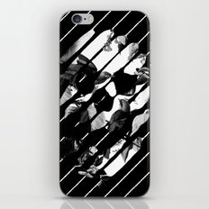 Memory Skull BW iPhone & iPod Skin