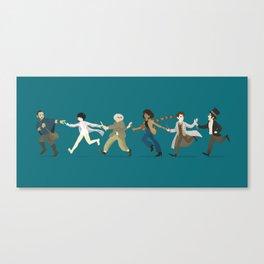 Pass it Along - Cloud Atlas  Canvas Print