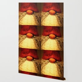 Merry Christmas - Red Nose Elf #decor #society6 #buyart Wallpaper