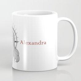 St. Alexandra in Tears Coffee Mug