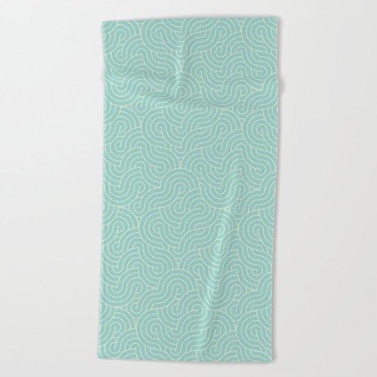 SWIRL / breeze Beach Towel