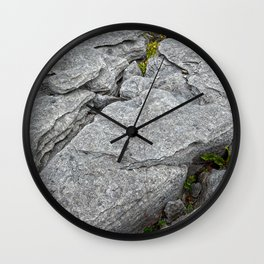 Poulnabrone Stone Texture Wall Clock