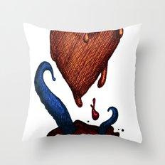 Why Love Dies Throw Pillow