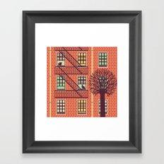 the fly (day) Framed Art Print