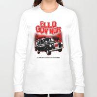 regular show Long Sleeve T-shirts featuring Ello Gov'nor! Regular Show by Mark Welser