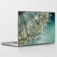 sparkles Laptop & iPad Skins featuring Indigo Sparkles by Sharon Johnstone