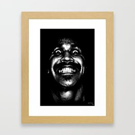 Hi Im God, Pleased to meet Me! Framed Art Print