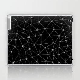 African Triangle Black Laptop & iPad Skin