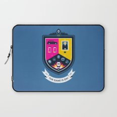 The Game is On! - blue version Laptop Sleeve