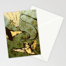 analog zine - song bird Stationery Cards