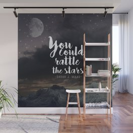 You could rattle the stars (moon included) Wall Mural