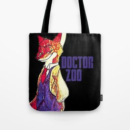 "Doctor Zoo: ""Zootopia""/""Doctor Who"" Crossover Tote Bag"