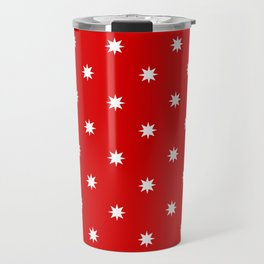stars 57- red Travel Mug