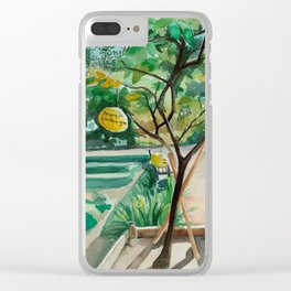 Washingtons Pomelos Clear iPhone Case