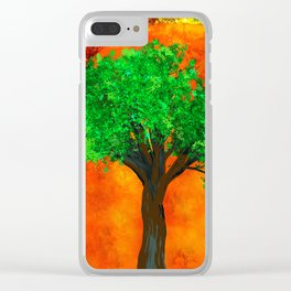 THE FOREVER TREE Clear iPhone Case