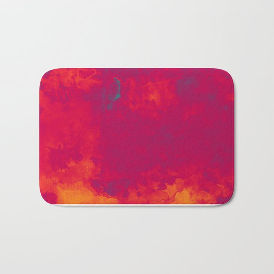 Red as Passion Bath Mat