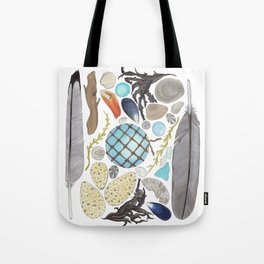 Coastal Treasures Tote Bag