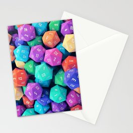 D20 Stationery Cards