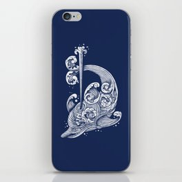 The Dolphin Wave iPhone Skin