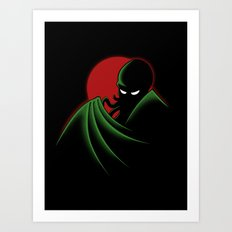 Cthulhu - The Animated Series Art Print