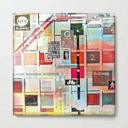 Painting 3 - NYC Bebe Metal Print