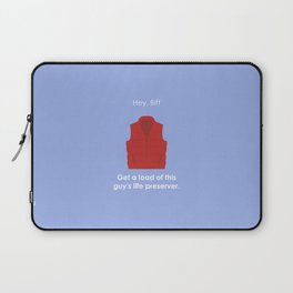 Back to the Future - Life Preserver Laptop Sleeve