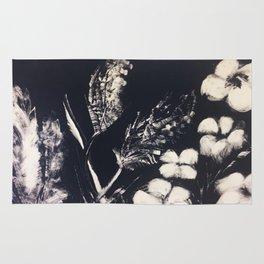 Flowers in the wind Rug