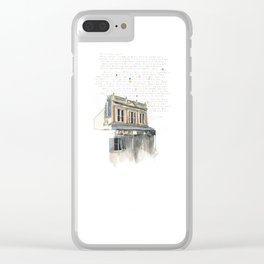 133 Ridiford Street, Wellington Clear iPhone Case