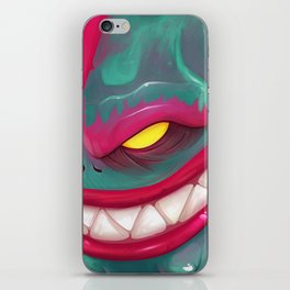 Kandy the Toxic Dragon iPhone Skin