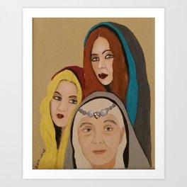 Triple Goddess Art Print