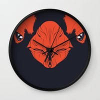 penguin Wall Clocks featuring Penguin by CranioDsgn