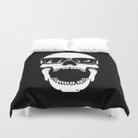 toothless Duvet Covers featuring Toothless by Magnus Snickars