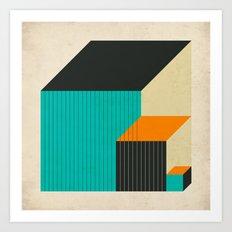 CUBES (11) Art Print
