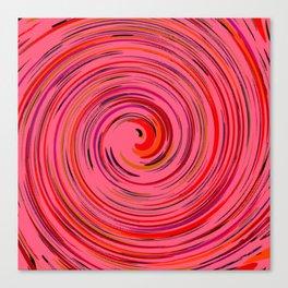Pink circle Canvas Print