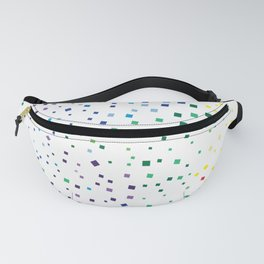 rainbow color geometric Fanny Pack